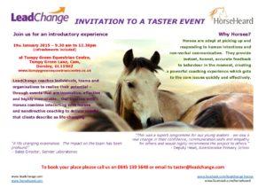 Invitation to a taster event @ Tumpy Green Equestrian Centre | Dursley | United Kingdom