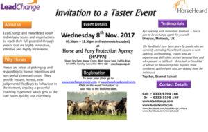 LeadChange and HorseHeard Taster Event @ HAPPA, Shore Farm Rescue Centre | Briercliffe | England | United Kingdom
